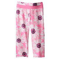 Toddler Girl Jumping Beans® Active Floral Capri Leggings