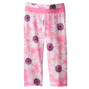 Toddler Girl Jumping Beans® Active Floral Capri Leggings