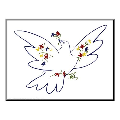 Art.com ''Dove of Peace'' Wood Wall Art by Pablo Picasso