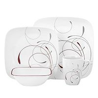 Corelle Impressions 16-pc. Square Dinnerware Set