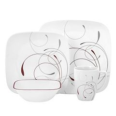 Corelle Impressions 16 pc Square Dinnerware Set