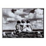 Art.com ''Entre Nous'' Wood Wall Art