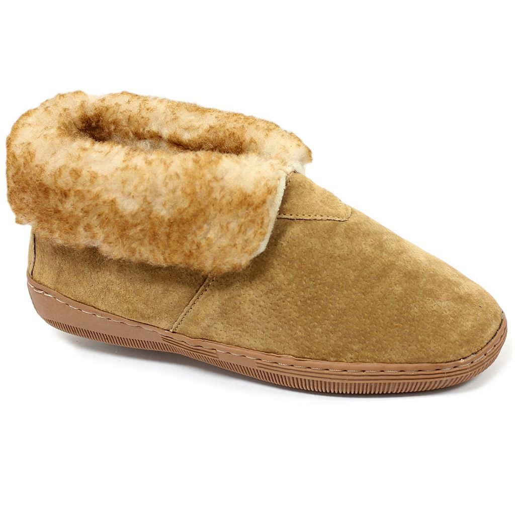 LAMO Women's Fleece Bootie Slippers