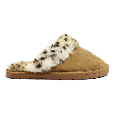 LAMO Women's Fleece Scuff Slippers