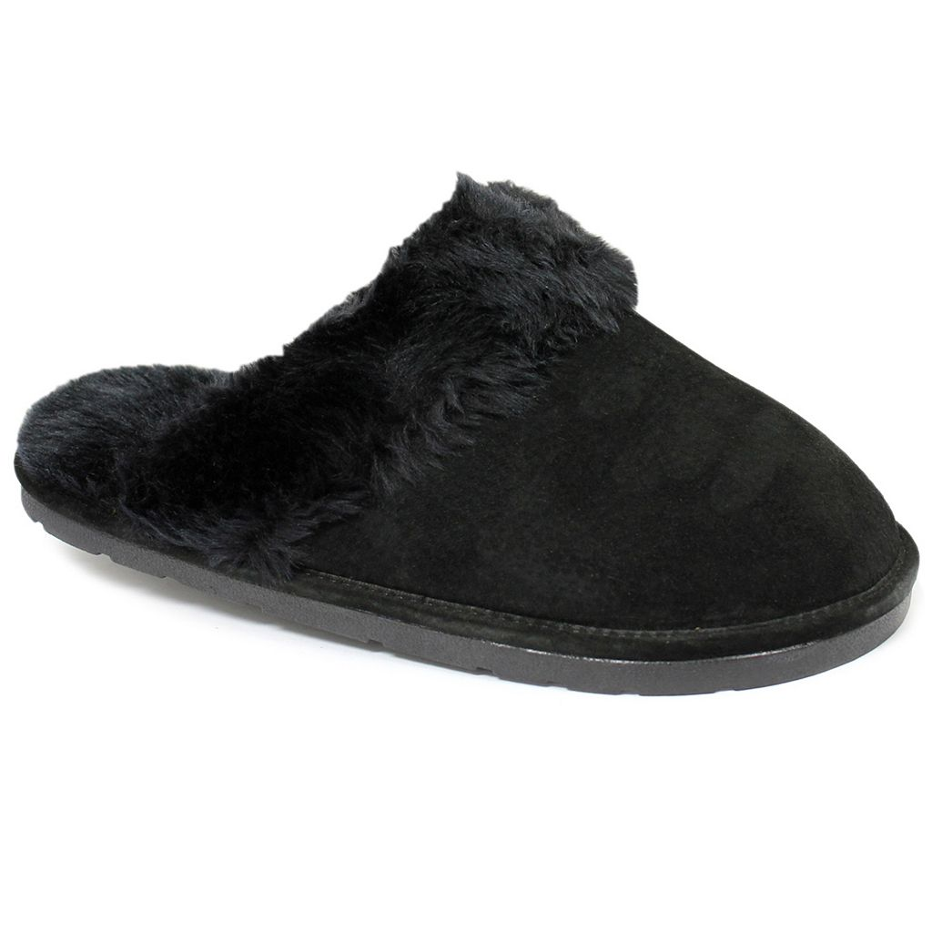LAMO Women's Fleece Scuff Slippers