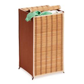 Honey-Can-Do Bamboo Wicker Laundry Hamper