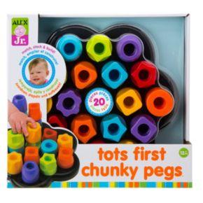 ALEX Jr. Tots First Chunky Pegs Set