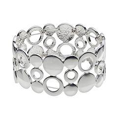Circle Link Stretch Bracelet