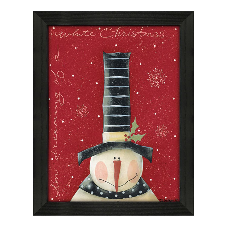 Timeless Frames U0027u0027White Christmasu0027u0027 Framed Wall Art