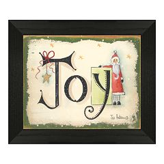 Timeless Frames ''Joy'' Christmas Framed Wall Art