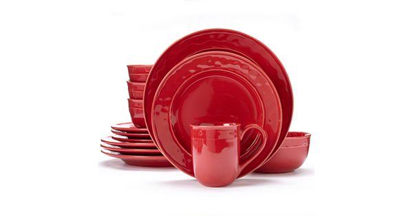 Food Network Fontina 16 Pc Dinnerware Set