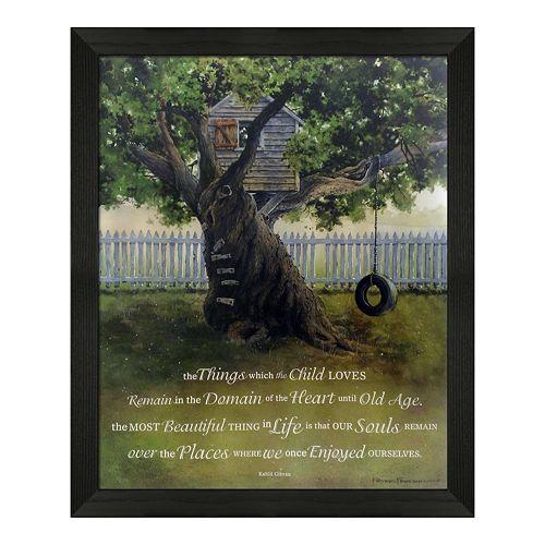 Timeless Frames ''Child's Heart'' Framed Wall Art