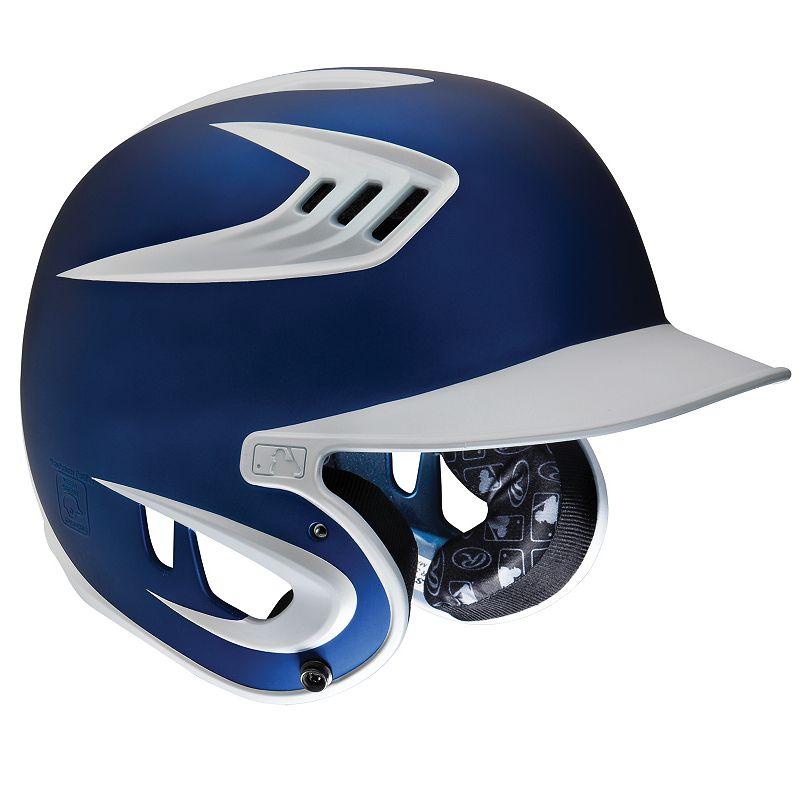 Rawlings Junior 80 MPH Baseball Batting Helmet - Youth, Multicolor Sports Gear