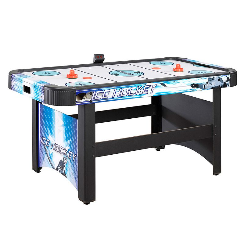 Hathaway Face-Off 60-in. Air Hockey Table, Blue