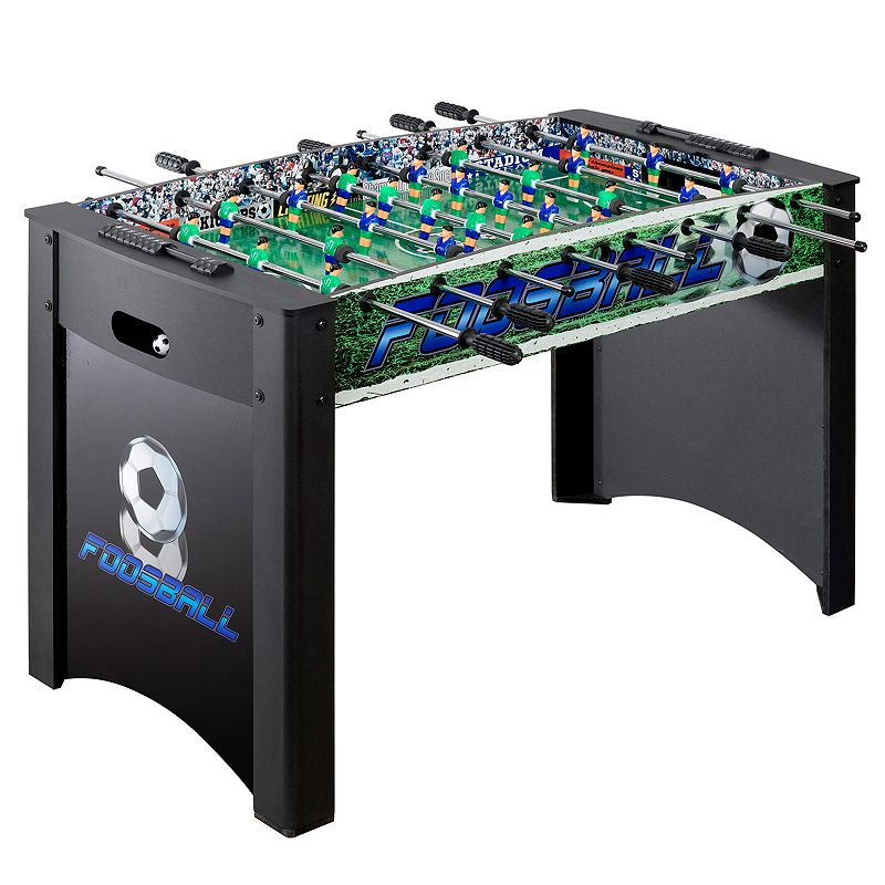 Hathaway Playoff 48-in. Foosball Table, Black