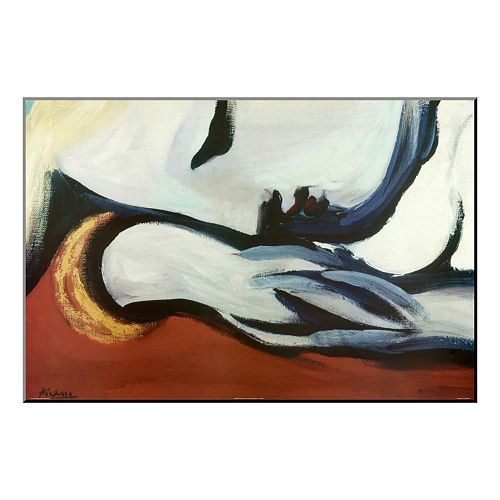 Art.com \'\'Rest\'\' Wood Wall Art by Pablo Picasso