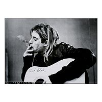 Art.com ''Kurt Cobain'' Wood Wall Art
