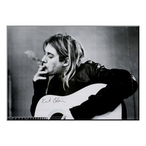 Art.com ''Kurt Cobain'' Wood W...
