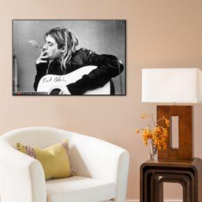 Art.com ''Kurt Cobain'' Wood Wall Art