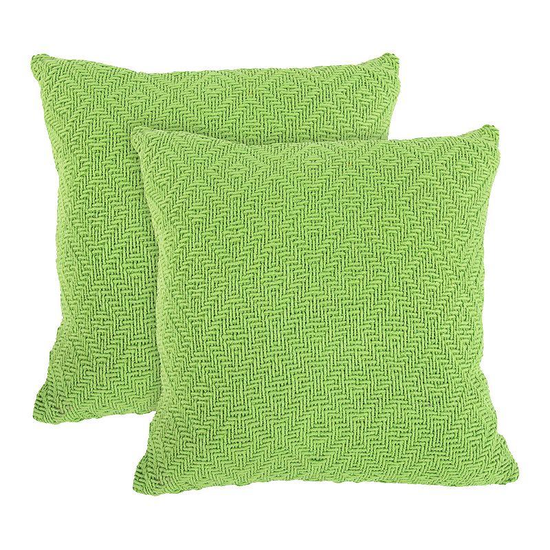 Woven Throw Pillow Kohl s