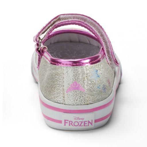 Disney's Frozen Anna & Elsa Toddler Girls' Mary Jane Flats