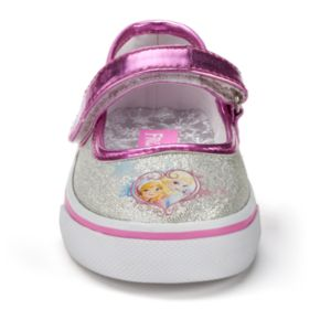 Disney's Frozen Anna & Elsa Toddler Girls' Mary Jane Flats