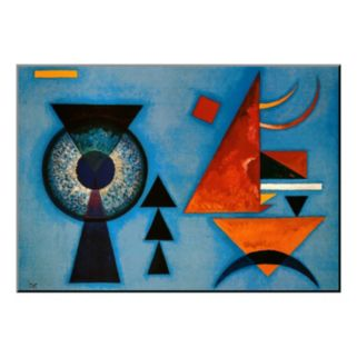 Art.com ''Weiches Hart'' Wood Wall Art by Wassily Kandinsky