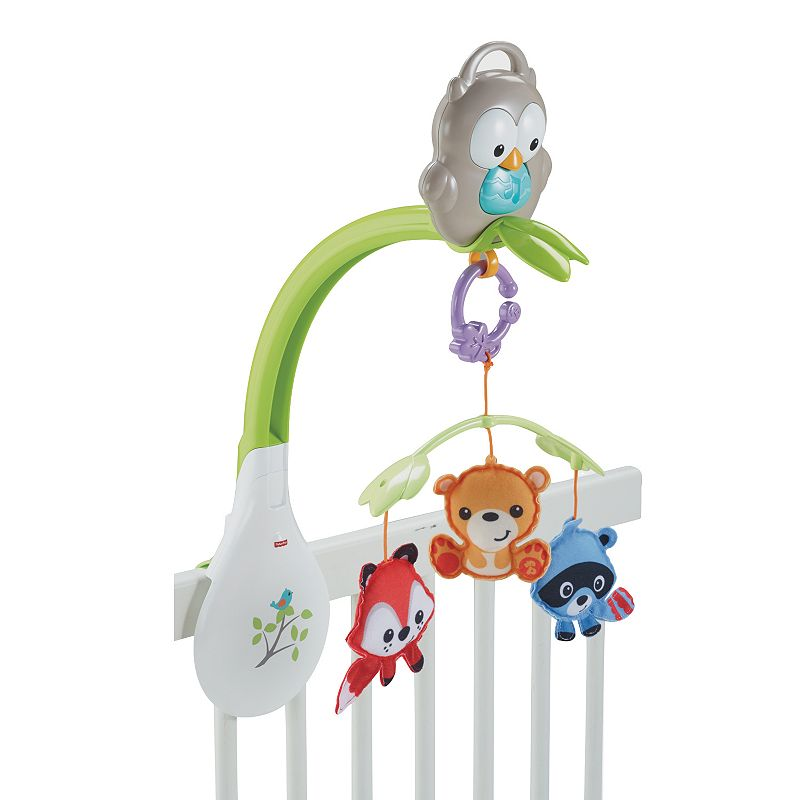 Fisher-Price Woodland Friends 3-in-1 Musical Mobile ()