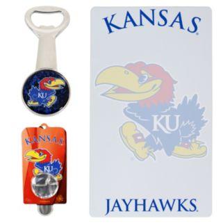 Kansas Jayhawks 3-Piece Lifestyle Package