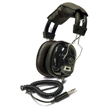 Bounty Hunter Adjustable Metal Detector Headphones