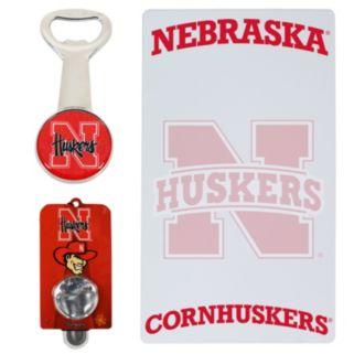 Nebraska Cornhuskers 3-Piece Lifestyle Package