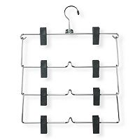 Honey-Can-Do 2 pk4 tier Pants Hangers