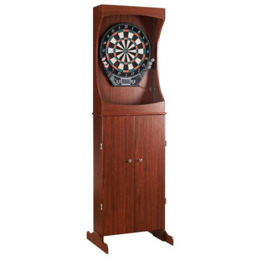 Hathaway Outlaw Electronic Dartboard and Free-Standing Cabinet Set