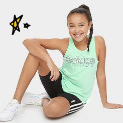 girl in adidas active wear