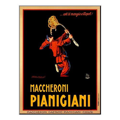 Art.com ''Maccheroni Pianigiani, 1922'' Wood Wall Art