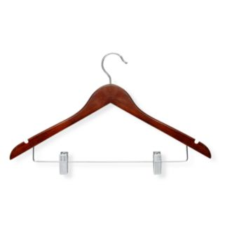 Honey-Can-Do 12-pk. Cherry Wood Suit Hangers
