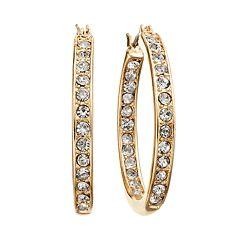 Dana Buchman Hoop Earrings