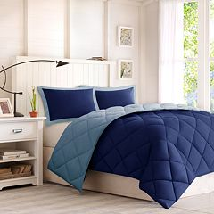 Madison Park Essentials 3M Down-Alternative Reversible Comforter Set