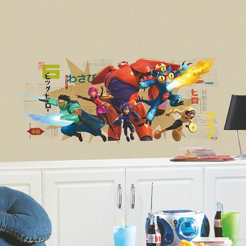 Disney Big Hero 6 Giant Wall Decal