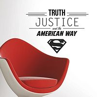 DC Comics Superman Quote Wall Decals