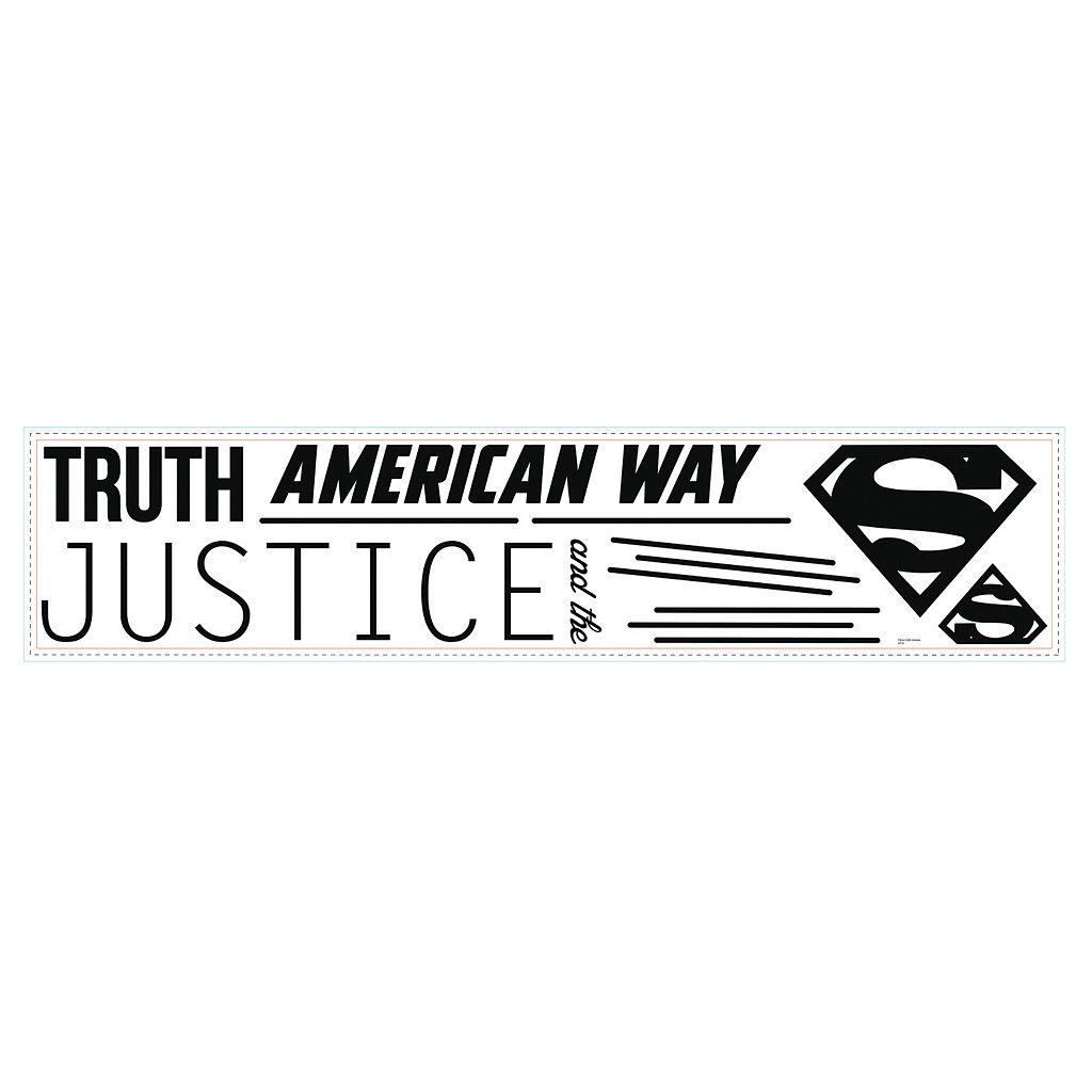 DC Comics Superman Quote Wall Decals