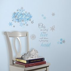 Disney's Frozen ''Let it Go'' Wall Decals