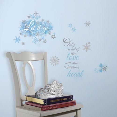 Disney's Frozen ''Let it Go'' Wall Decals