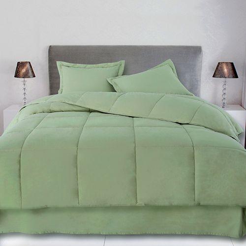 Cotton Loft® Cotton Filled Down Alternative Comforter with Cotton Cover