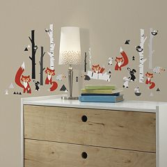 Fox Forest Wall Decals
