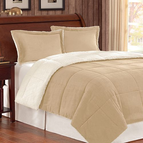 Madison Park Corduroy Down Alternative Reversible Comforter Set