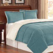Madison Park Corduroy Down-Alternative Reversible Comforter Set