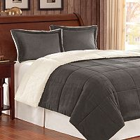 Premier Comfort Corduroy Down-Alternative Reversible Comforter Set