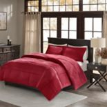 Madison Park Corduroy Down-Alternative Reversible Comforter Set