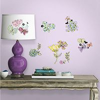 Floral and Butterfly Wall Decals